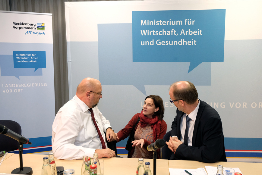 Bürgerforum in Rostock