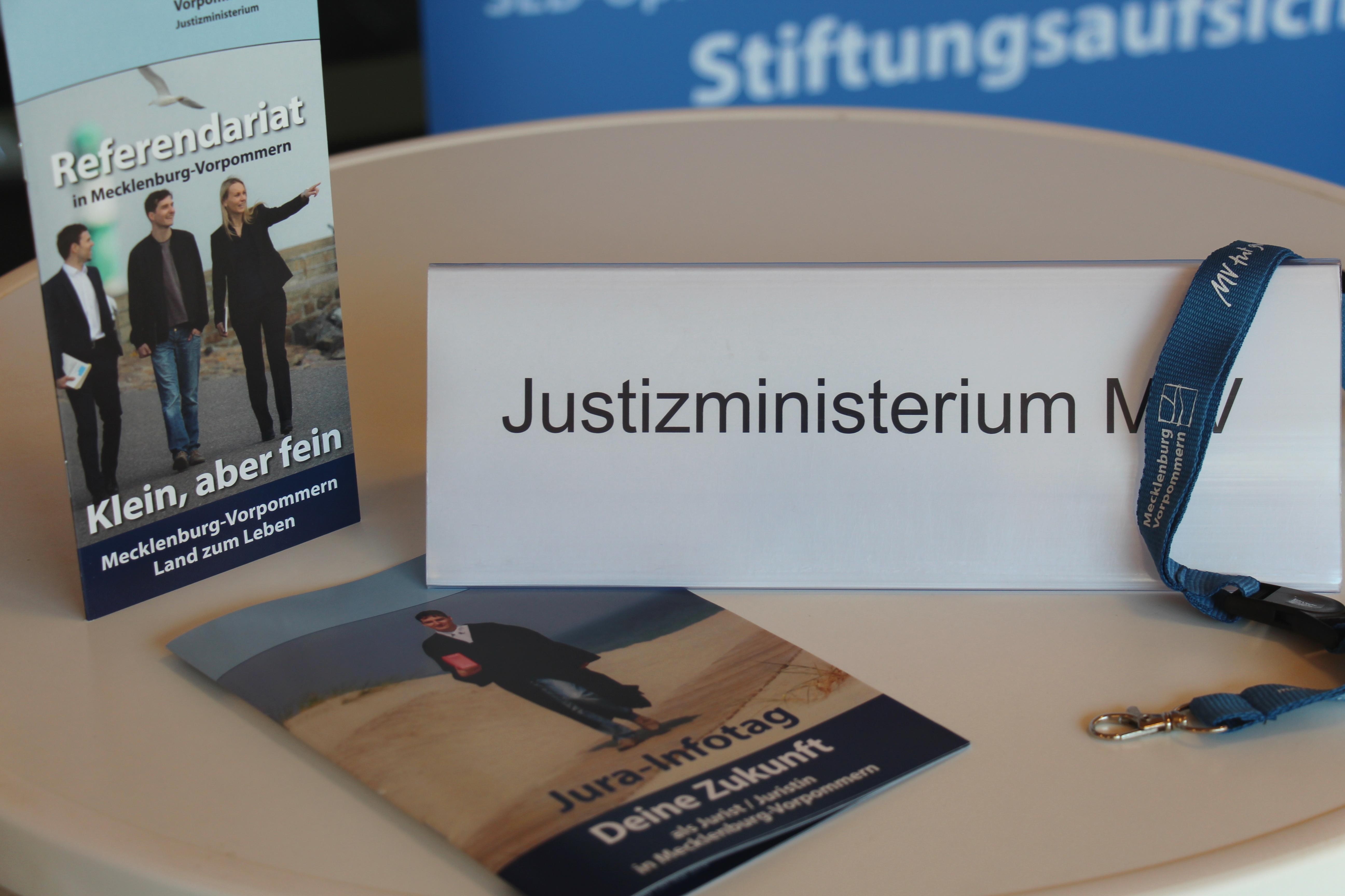 Jura Infotag - Regierungsportal M-V