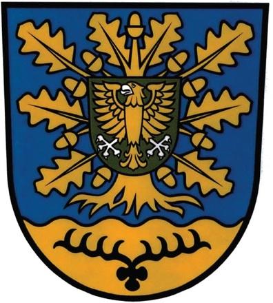 Wappen der Gemeinde Eixen im Landkreis Vorpommern-Rügen