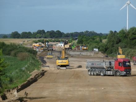 Überblick Baustelle, Quelle: Landesamt für Straßenbau und Verkehr