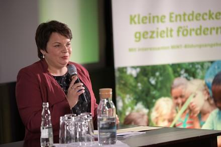 Ministerin Drese bei der Eröffnung des Fachtags (Foto: Margit Wild)