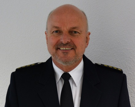 Künftiger Präsident im Polizeipräsidium Rostock - Peter Mainka