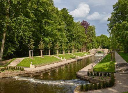 Die Restaurierung des Ludwigsluster Schlossgartens ist abgeschlossen.