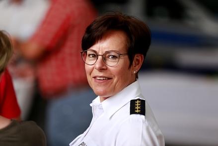 Direktorin vom Landeswasserschutzpolizeiamt M-V, leitende Kriminaldirektorin Anja Hamann