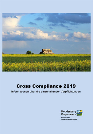Titel Cross Compliance - Informationsbroschüre 2019