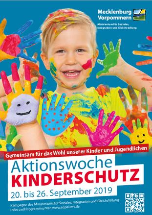 Plakat zur Aktionswoche Kinderschutz