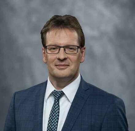 Der Minister für Inneres und Europa Torsten Renz