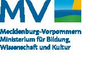 """Logo """"MV tut gut"""" mit der Unterzeile """"Ministerium für Bildung, Wissenschaft und Kultur"""" (Interner Link:  Startseite des Ministeriums für Bildung, Wissenschaft und Kultur)"""