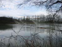 Siedenbollenthiner See: Verregnung von TonmehlsuspensionFoto: Mathes
