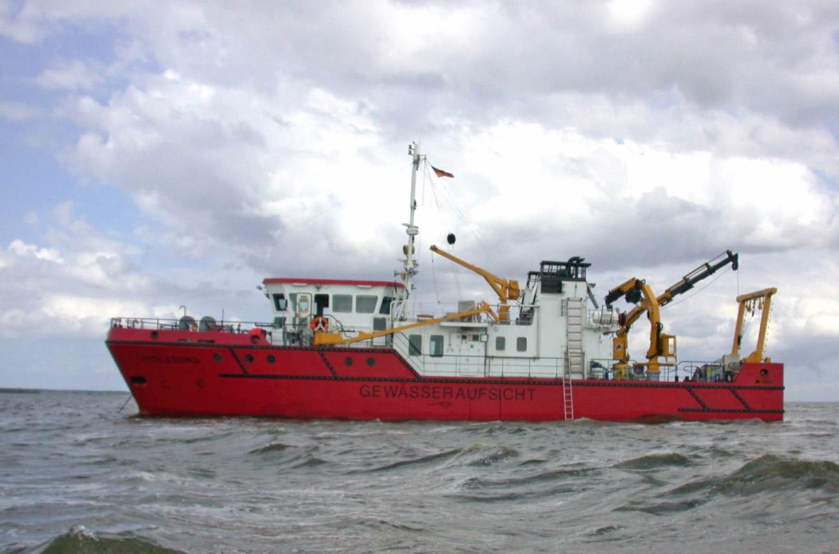 Gewässeraufsichtsschiff