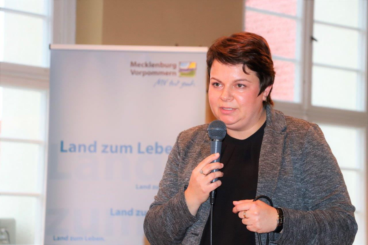 Bürgerforum in Malchin - Stefanie Drese