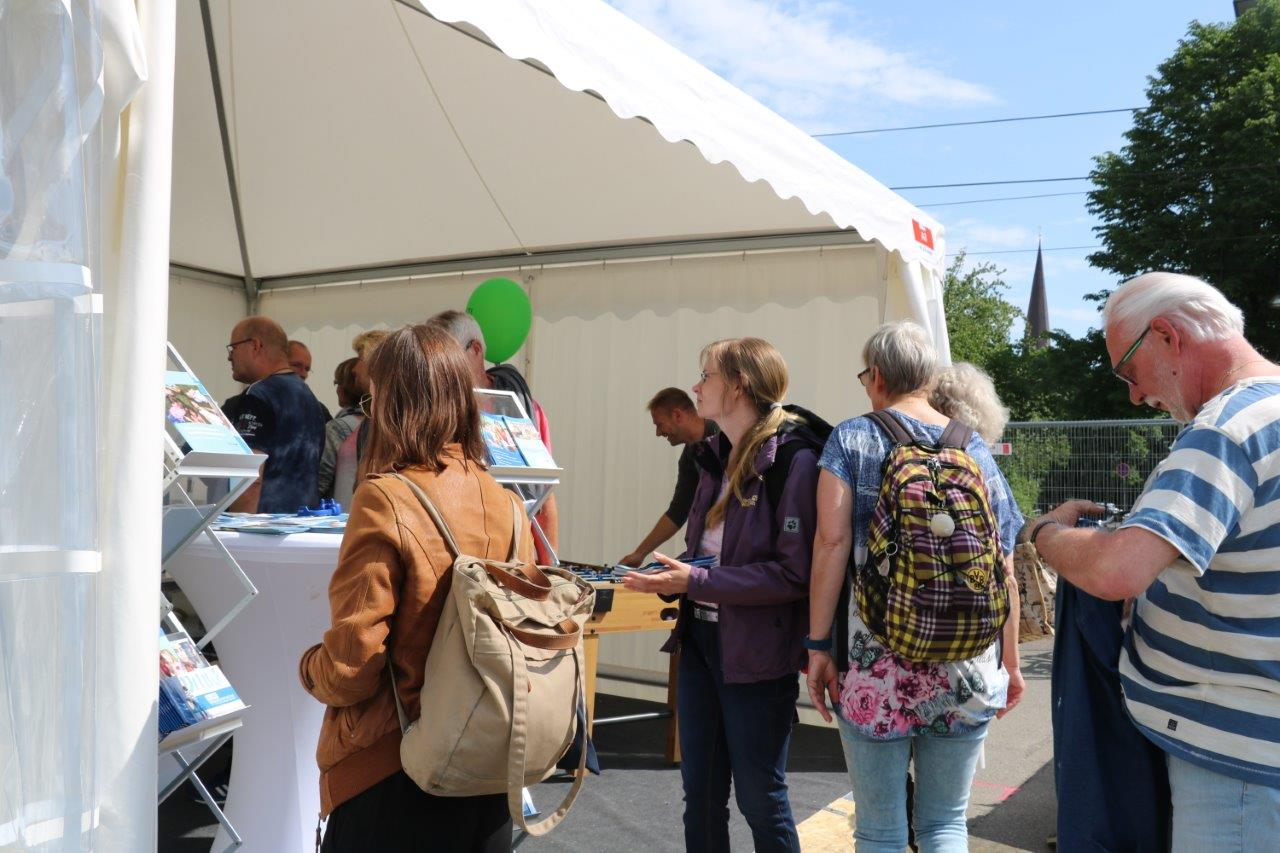 MV-Tag 2018 in Rostock - Pavillon