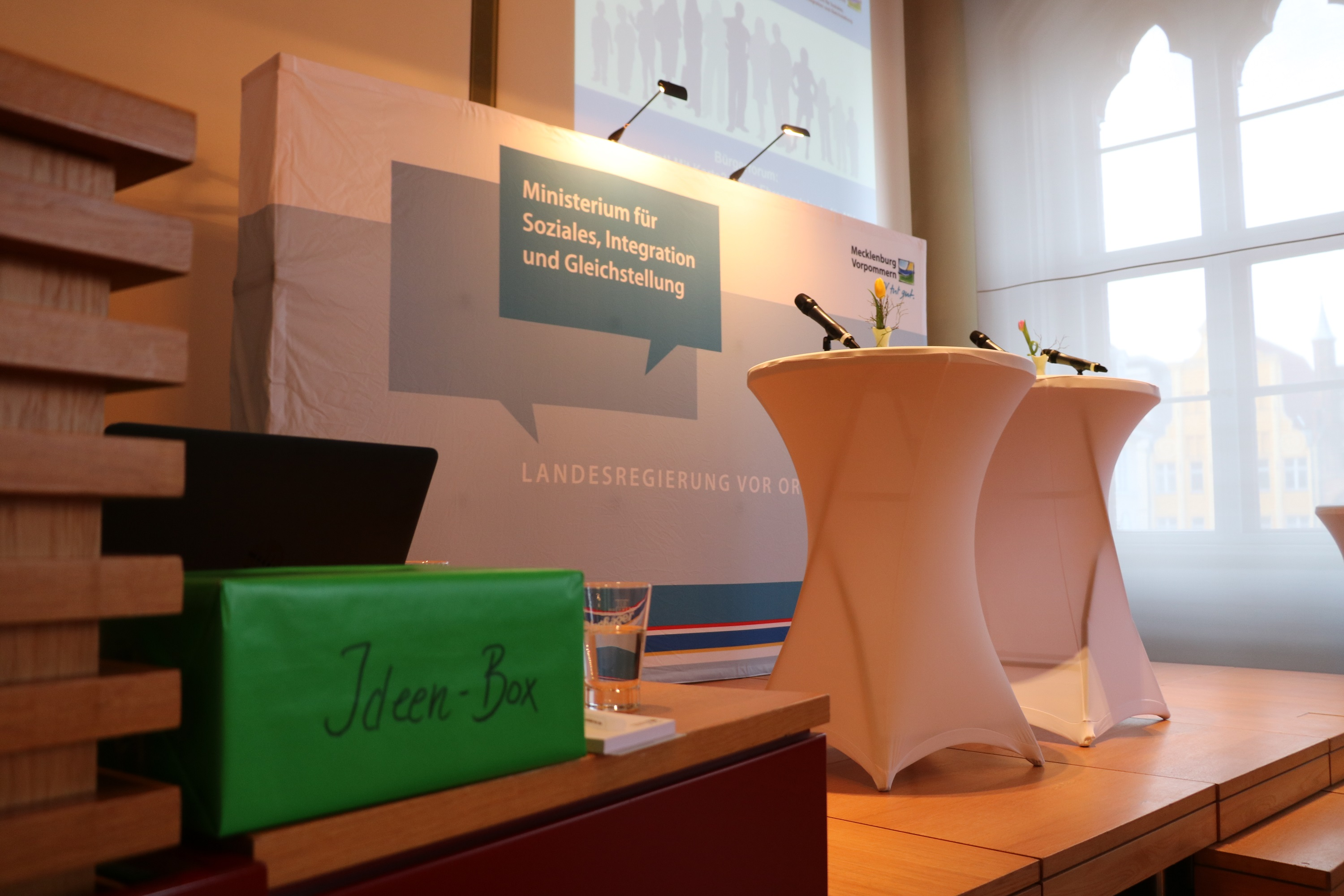 Stralsund Bürgerforum April 2018 - Ideen Box