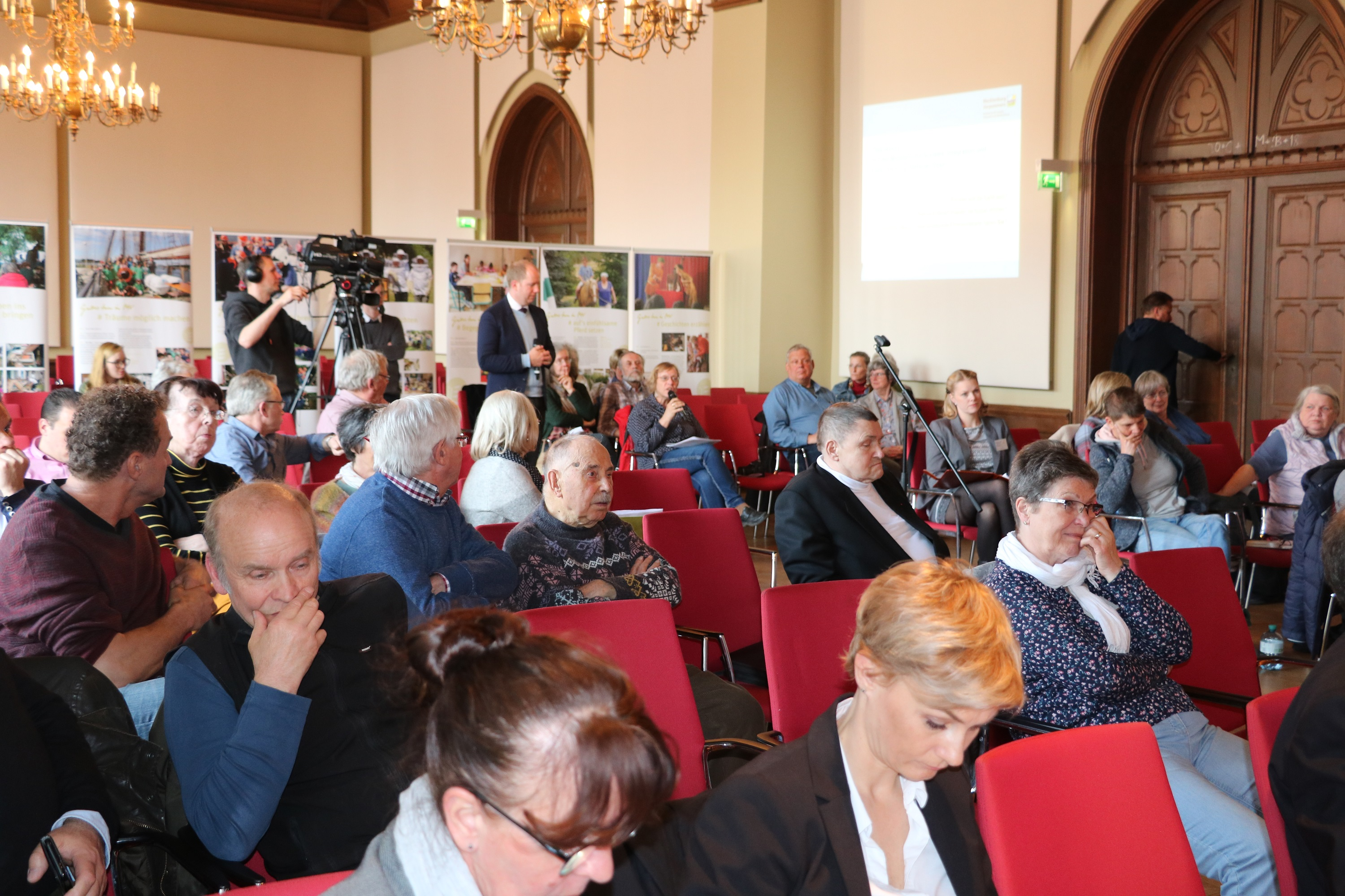 Stralsund Bürgerforum April 2018 - Fragerunde