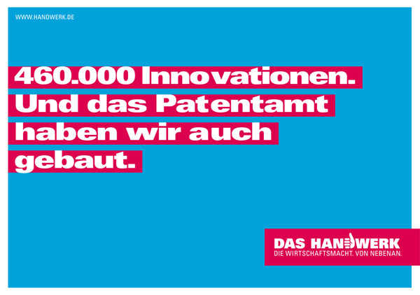 Plakat Innovationen im Handwerk